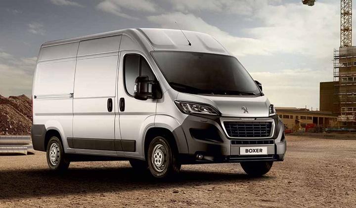 2018 Peugeot Boxer Van 2.0 BlueHDi