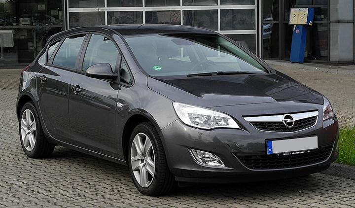 Aracım Opel Astra J 1.6 Atmosferik   Araba Teknik Bilgi